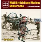 British Royal Mariens Soldier Set A