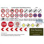 Verkehrszeichen Deutschland modern I