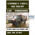 Unimog GSI-Trupp