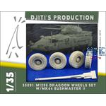 Wheels set for M1296 Stryker Dragoon