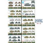 Dragon Mini Armor Collection - 10 tanks
