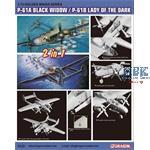 P-61A Black Widow / P-61B Lady of the  Dark 2in1