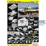 T-34/76 Mod. 1943 w/Commander Cupola - Smart Kit