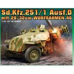 Sd.Kfz. 251 ausf. D w28/32cm Wurfrahmen