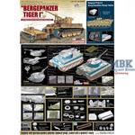 Bergepanzer Tiger I + Borgward Ladungsleger
