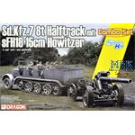 Sd Kfz. 7 8(t) Halftrack + s.Fh 18