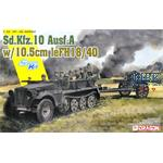 Sd Kfz 10 + 10,5 cm le. Fh 18/40