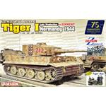 Tiger I late Production w/ Zimmerit + 4 Figuren