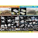 Sd Kfz 7/2 3,7cm Flak 37 - 3,7cm Flak 36  2in1