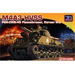 M4A3 HVSS POA-CWS-H5 Flamethrower Korea