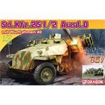 Sd Kfz 251 Ausf D mit Wurfrahmen 40  2 in 1   1/72