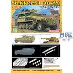 Sd.Kfz.251/7 Ausf.C  with 3,7cm Pak 36   1/72