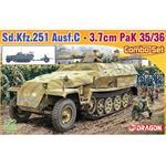 Sd Kfz 251 Ausf C + 3,7cm PaK 35/36