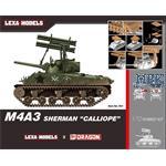 """M4A3 Sherman """" Calliope """"      Lexa Models"""