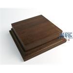 Holzsockel, hoch, 10x10cm (12x12), Teak