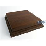 Holzsockel, hoch, 15x15cm (17x17), Teak