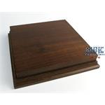 Holzsockel, hoch, 18x18cm (20x20), Teak