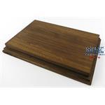 Holzsockel, hoch, 28x18cm (30,5x20,5), Eiche
