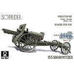French Schneider 155mm C17S howitzer