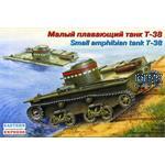 russ. amphibious light tank T-38