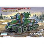 Fin. assault gun BT-42 on BT-7 chassis