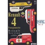Renault 4 Fourgonnette Service Car 1/24