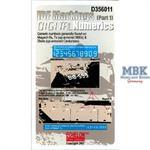 IDF Markings (part 1) Digital Numerics