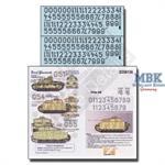 LSSAH Turret Numbers - Medium Panzers - Kursk 1943