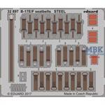 B-17E/F seatbelts STEEL   1/32