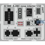 Douglas A-26C Invader nose interior 1/32