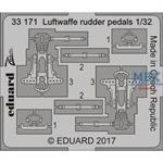 Luftwaffe rudder pedals 1/32