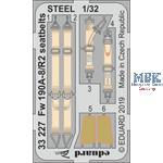 Fw 190A-8/R2 seatbelts STEEL 1/32