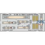 Ar 196A-3 seatbelts STEEL 1/32