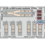 Douglas A-26B Invader seatbelts STEEL 1/32