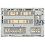 Stearman PT-17/N2S-3 seatbelts STEEL 1/32