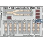 Douglas A-26C Invader seatbelts STEEL 1/32