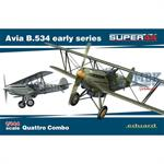 Avia B.534 early series Quattro Combo 1/144