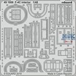 McDonnell F-4C Phantom interior 1/48