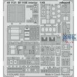 BF-110E INTERIOR  1/48