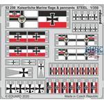 Kaiserliche Marine Flags & Pennants Steel 1/350