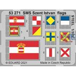 SMS Szent Istvan flags STEEL 1/350