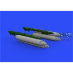 SUU-7 dispenser w/ extended tubes 1/48