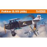 Fokker D.VII (Alb) - Profipack- 1/72