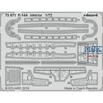 Grumman F-14A Tomcat interior 1/72