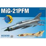 MiG-21PMF Interceptor 1/72 -- Weekend Edition--