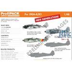 Focke-Wulf Fw-190A-8/R2     1/48  -Profi Pack-