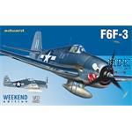 Grumman F6F-3 1/48 - Weekend edition