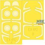 Aero L-39ZA TFace 1/48  Masking tape