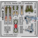 BAe Harrier GR.1/3 seatbelts STEEL 1/48