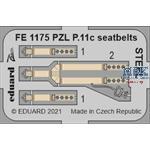 PZL P.11c seatbelts STEEL 1/48